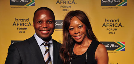 With Dr. Dambisa Moyo